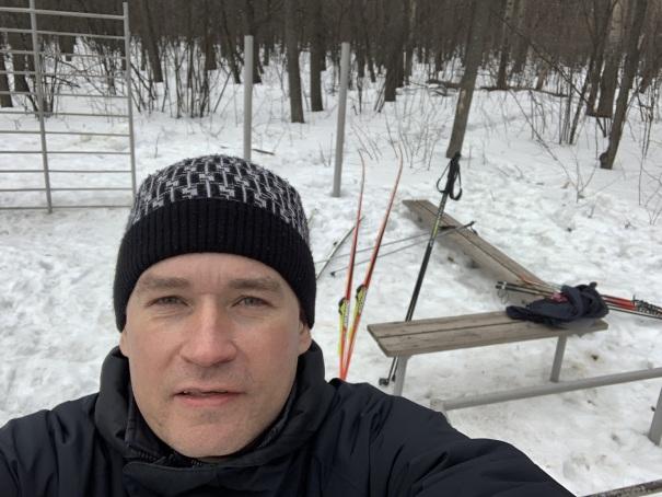Чайка, лыжная база, Андрей Хвостов