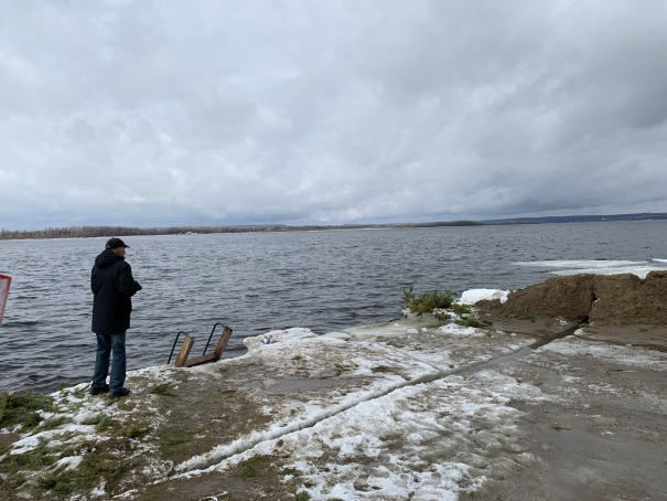 Волга вскрылась ото льда