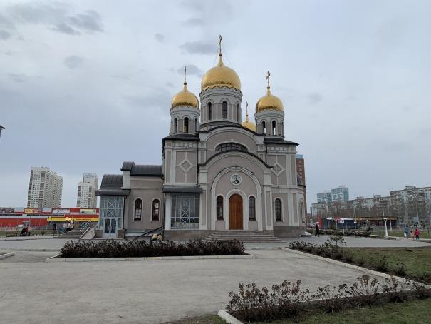 Храм Благовещения в Самаре