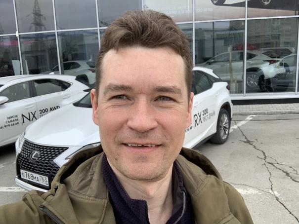 Андрей Хвостов, апрель 2021