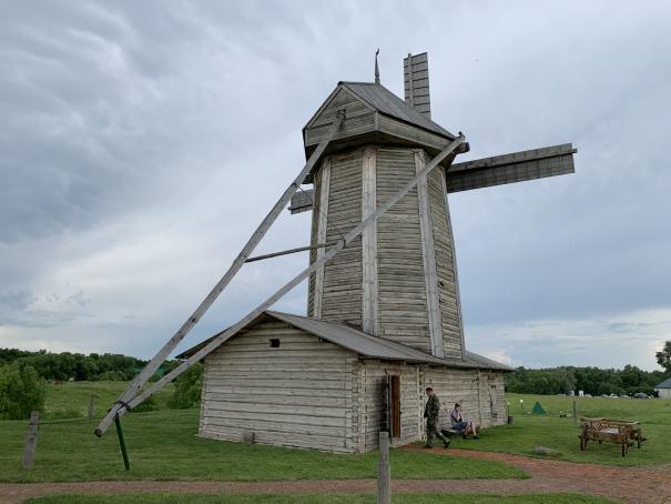 Ветряная мельница в Лермонтово-2