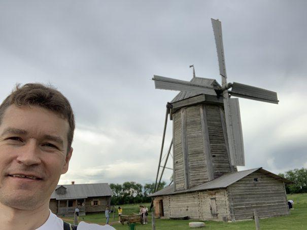 Ветряная мельница в Лермонтово