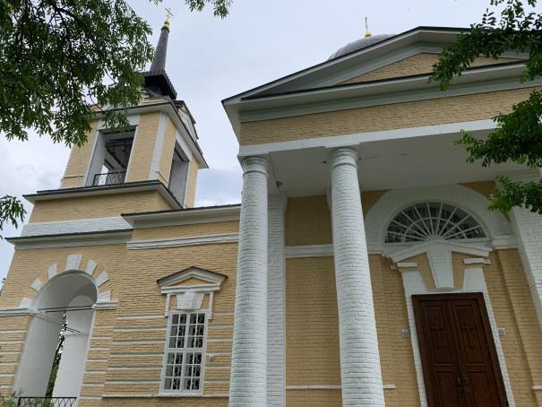 Храм возле усыпальницы Лермонтова