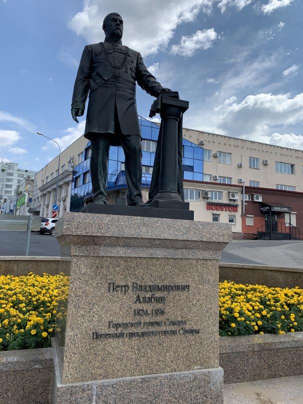 Памятник Петра Алабина