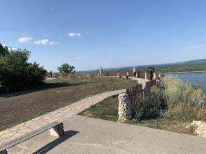 Попова гора, Волга