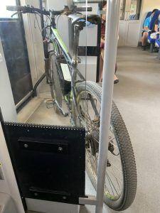 "Велосипед в электричке ""Ласточка"""