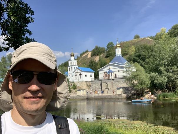 Андрей Хвостов возле Царёва кургана