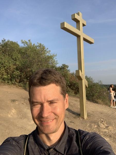 Андрей Хвостов на Лысой горе в Самаре