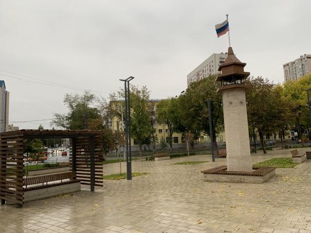 Крымская площадь в Самаре