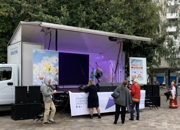 Концерт на колёсах на выборах в Госдуму